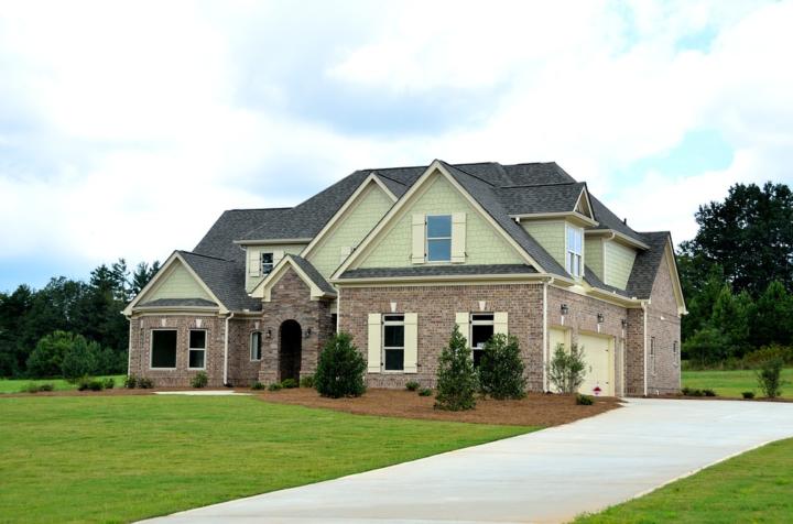 家の外観の全体図