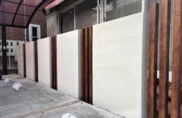 DIYでブロック塀の塗装をする方法の画像